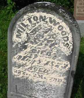 WOODS, MILTON - Gallia County, Ohio | MILTON WOODS - Ohio Gravestone Photos