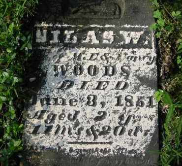 WOODS, SILAS W. - Gallia County, Ohio | SILAS W. WOODS - Ohio Gravestone Photos
