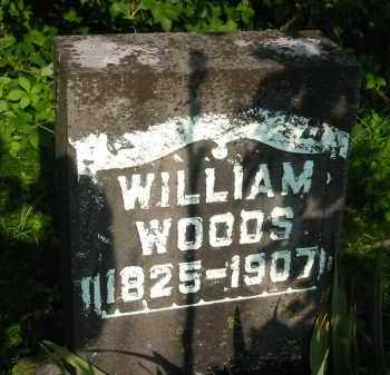 WOODS, WILLIAM - Gallia County, Ohio | WILLIAM WOODS - Ohio Gravestone Photos