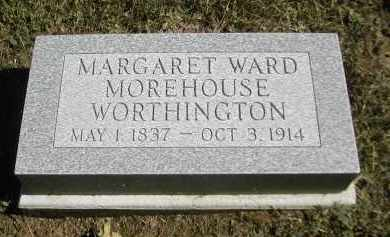 WARD WORTHINGTON, MARGARET - Gallia County, Ohio | MARGARET WARD WORTHINGTON - Ohio Gravestone Photos