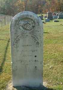 WRIGHT, ANDREW - Gallia County, Ohio   ANDREW WRIGHT - Ohio Gravestone Photos
