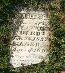 WRIGHT, CHARLES - Gallia County, Ohio | CHARLES WRIGHT - Ohio Gravestone Photos