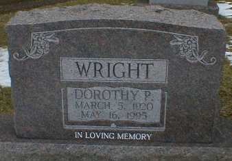 WRIGHT, DOROTHY - Gallia County, Ohio | DOROTHY WRIGHT - Ohio Gravestone Photos
