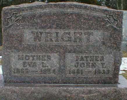 WRIGHT, EVA - Gallia County, Ohio | EVA WRIGHT - Ohio Gravestone Photos