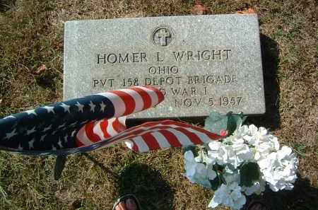 WRIGHT, HOMER L. - Gallia County, Ohio | HOMER L. WRIGHT - Ohio Gravestone Photos