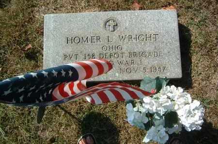 WRIGHT, HOMER L. - Gallia County, Ohio   HOMER L. WRIGHT - Ohio Gravestone Photos