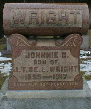 WRIGHT, JOHNNIE - Gallia County, Ohio | JOHNNIE WRIGHT - Ohio Gravestone Photos