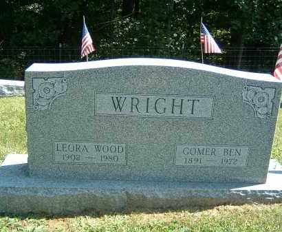 WRIGHT, GOMER BEN - Gallia County, Ohio | GOMER BEN WRIGHT - Ohio Gravestone Photos
