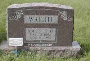 WRIGHT, MAURICE - Gallia County, Ohio | MAURICE WRIGHT - Ohio Gravestone Photos