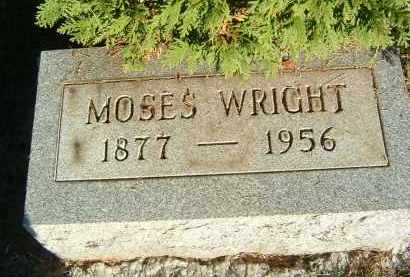 WRIGHT, MOSES - Gallia County, Ohio | MOSES WRIGHT - Ohio Gravestone Photos