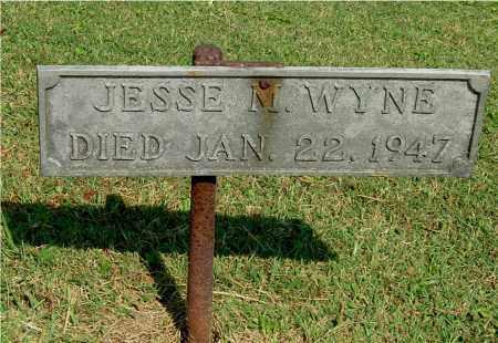 WYNE, JESSE M - Gallia County, Ohio | JESSE M WYNE - Ohio Gravestone Photos