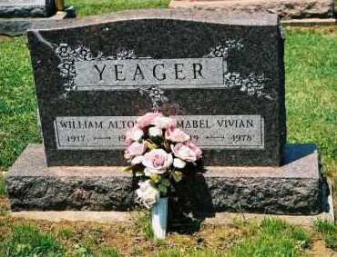 YEAGER, MABEL VIVIAN - Gallia County, Ohio | MABEL VIVIAN YEAGER - Ohio Gravestone Photos