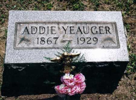 REYNOLDS YEAUGER, ADELINE - Gallia County, Ohio | ADELINE REYNOLDS YEAUGER - Ohio Gravestone Photos