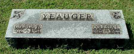 YEAUGER, COLESTA E - Gallia County, Ohio | COLESTA E YEAUGER - Ohio Gravestone Photos