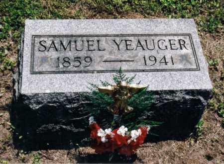 YEAUGER, SAMUEL O. - Gallia County, Ohio | SAMUEL O. YEAUGER - Ohio Gravestone Photos