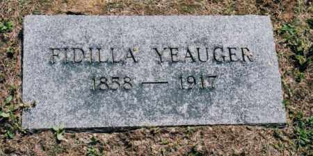 ROUSH YEAUGER, SARAH FIDILLA - Gallia County, Ohio | SARAH FIDILLA ROUSH YEAUGER - Ohio Gravestone Photos