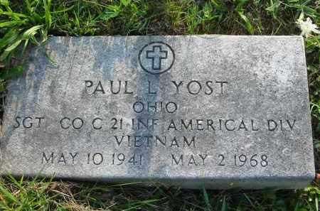 YOST, PAUL L. - Gallia County, Ohio | PAUL L. YOST - Ohio Gravestone Photos