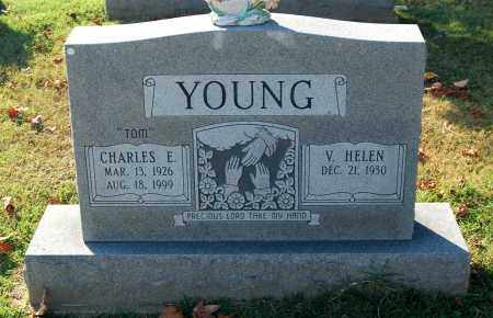 YOUNG, CHARLES E - Gallia County, Ohio | CHARLES E YOUNG - Ohio Gravestone Photos