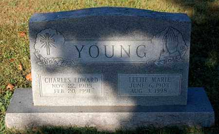 YOUNG, CHARLES EDWARD - Gallia County, Ohio | CHARLES EDWARD YOUNG - Ohio Gravestone Photos