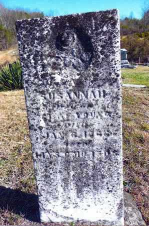YOUNG, SUSANNAH - Gallia County, Ohio | SUSANNAH YOUNG - Ohio Gravestone Photos