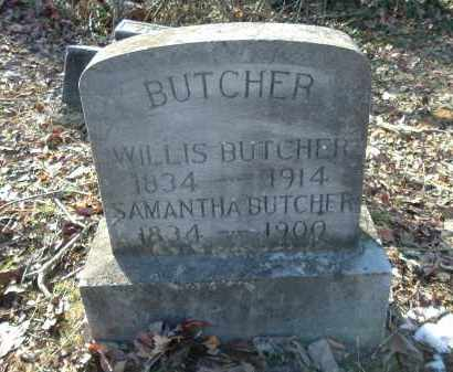 BUTCHER, SAMANTHA - Gallia County, Ohio | SAMANTHA BUTCHER - Ohio Gravestone Photos