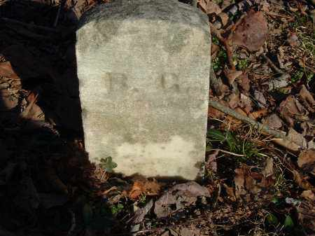 'G', 'B' - Gallia County, Ohio | 'B' 'G' - Ohio Gravestone Photos