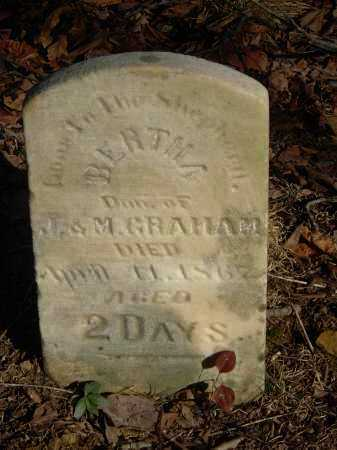 GRAHAM, BERTHA - Gallia County, Ohio | BERTHA GRAHAM - Ohio Gravestone Photos