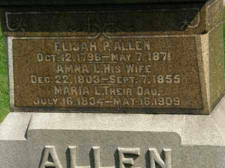 ALLEN, AMNA L. - Geauga County, Ohio | AMNA L. ALLEN - Ohio Gravestone Photos