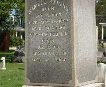 BODMAN, SAMUEL - Geauga County, Ohio | SAMUEL BODMAN - Ohio Gravestone Photos