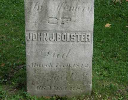 BOLSTER, JOHN J. - Geauga County, Ohio | JOHN J. BOLSTER - Ohio Gravestone Photos