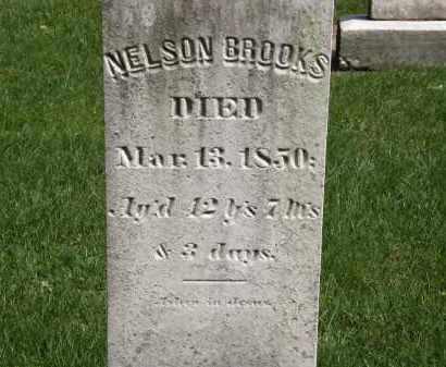 BROOKS, NELSON - Geauga County, Ohio | NELSON BROOKS - Ohio Gravestone Photos