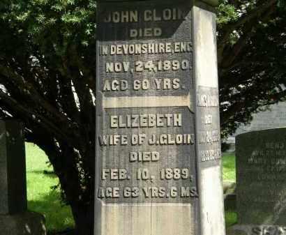 CLOIN, JOHN - Geauga County, Ohio | JOHN CLOIN - Ohio Gravestone Photos