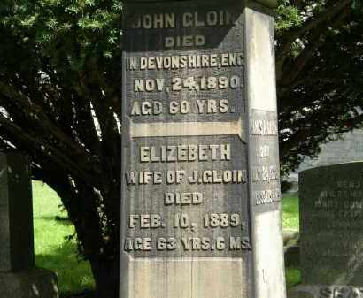 CLOIN, ELIZEBETH - Geauga County, Ohio | ELIZEBETH CLOIN - Ohio Gravestone Photos