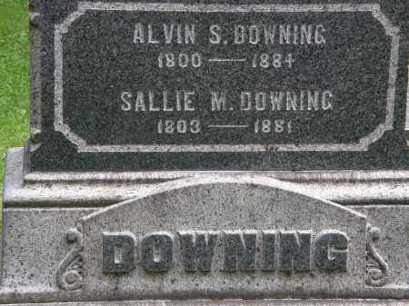 DOWNING, ALVIN S. - Geauga County, Ohio | ALVIN S. DOWNING - Ohio Gravestone Photos