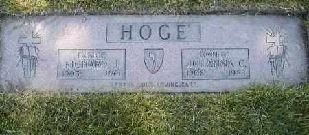 HOGE, RICHARD J. - Geauga County, Ohio | RICHARD J. HOGE - Ohio Gravestone Photos