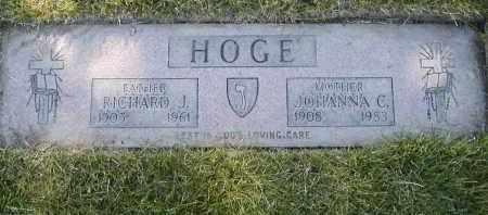 MEINKE HOGE, JOHANNA C. - Geauga County, Ohio | JOHANNA C. MEINKE HOGE - Ohio Gravestone Photos