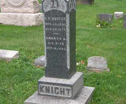 KNIGHT, AMANDA A. - Geauga County, Ohio | AMANDA A. KNIGHT - Ohio Gravestone Photos