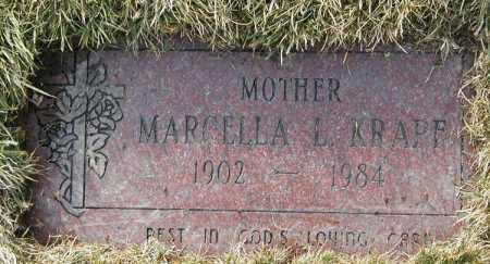 KRAPF, MARCELLA L. - Geauga County, Ohio | MARCELLA L. KRAPF - Ohio Gravestone Photos