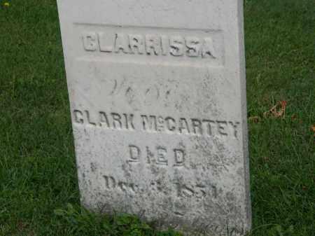 MCCARTEY, CLARRISSA - Geauga County, Ohio | CLARRISSA MCCARTEY - Ohio Gravestone Photos