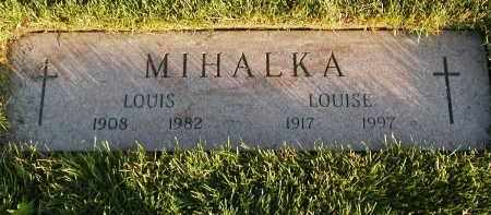 MIHALKA, LOUISE - Geauga County, Ohio | LOUISE MIHALKA - Ohio Gravestone Photos