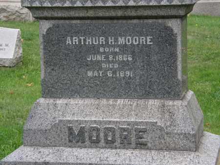 MOORE, ARTHUR H. - Geauga County, Ohio | ARTHUR H. MOORE - Ohio Gravestone Photos