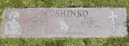 MUSHINKO, PETER - Geauga County, Ohio | PETER MUSHINKO - Ohio Gravestone Photos