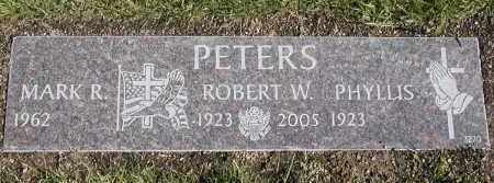 PETERS, ROBERT W. - Geauga County, Ohio | ROBERT W. PETERS - Ohio Gravestone Photos
