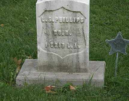 PHILLIPS, L.S. - Geauga County, Ohio | L.S. PHILLIPS - Ohio Gravestone Photos