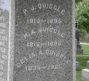 QUIGGLE, DELIA A. - Geauga County, Ohio | DELIA A. QUIGGLE - Ohio Gravestone Photos