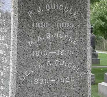 QUIGGLE, M.A. - Geauga County, Ohio | M.A. QUIGGLE - Ohio Gravestone Photos