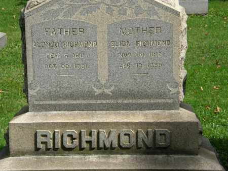 RICHMOND, ELIZA - Geauga County, Ohio | ELIZA RICHMOND - Ohio Gravestone Photos