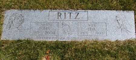 RITZ, IDA - Geauga County, Ohio | IDA RITZ - Ohio Gravestone Photos