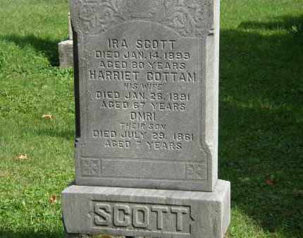 COTTMAN SCOTT, HARRIET - Geauga County, Ohio | HARRIET COTTMAN SCOTT - Ohio Gravestone Photos