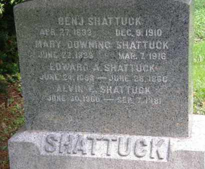 SHATTUCK, MARY - Geauga County, Ohio | MARY SHATTUCK - Ohio Gravestone Photos